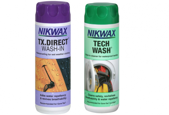 Nikwax wash in produkte