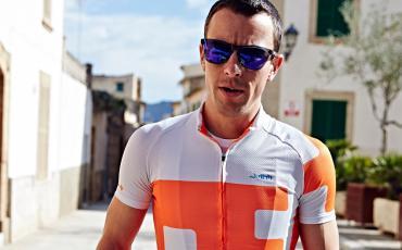 image of Ben Simmons modelling dhb blok range of clothing