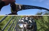 Dos imágenes de las gafas de sol Adidas Tycane Pro