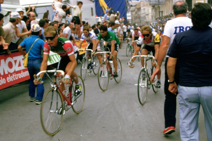 Greg Lemond bei der Tour de France